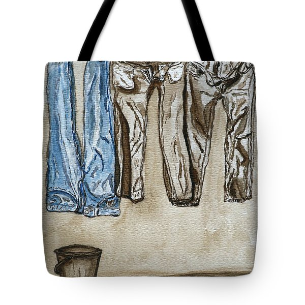 Blue Jeans. Tote Bag