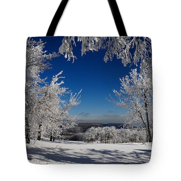 Blue Knob Tote Bag