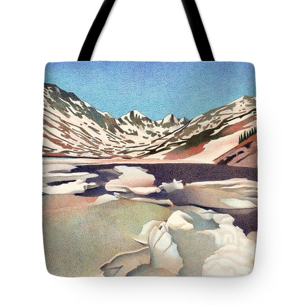 Blue Lakes Colorado Tote Bag