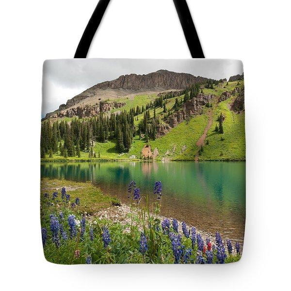 Blue Lakes Summer Splendor Tote Bag