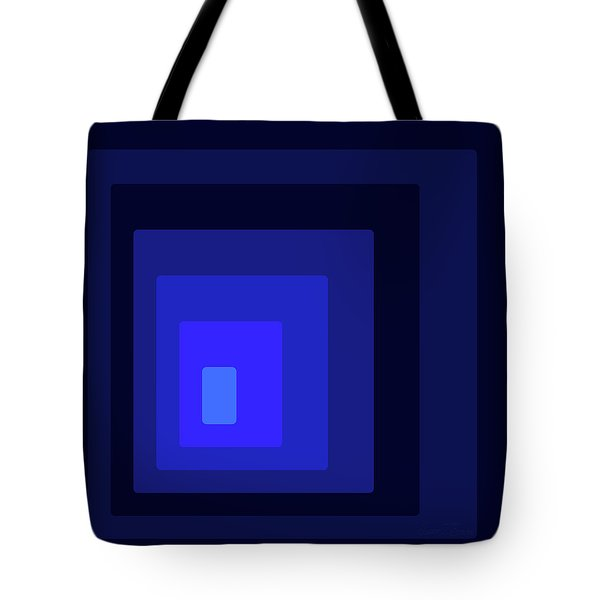 Blue Light At The End Of The Rec-tunnel Tote Bag