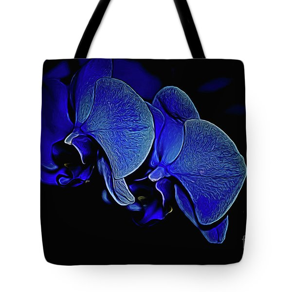 Blue Light Tote Bag