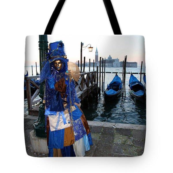 Blue Lips At Sunrise Tote Bag