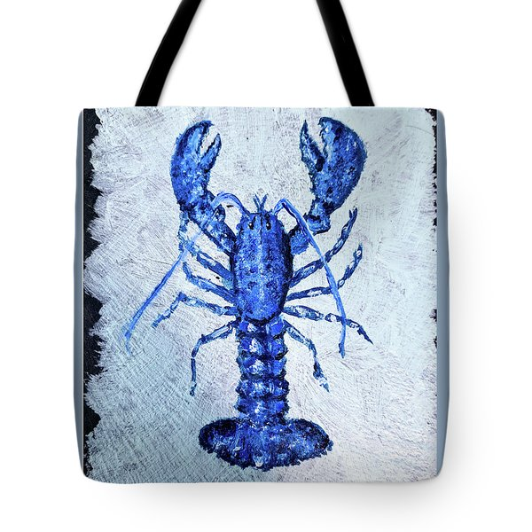 Blue Lobster 1 Tote Bag