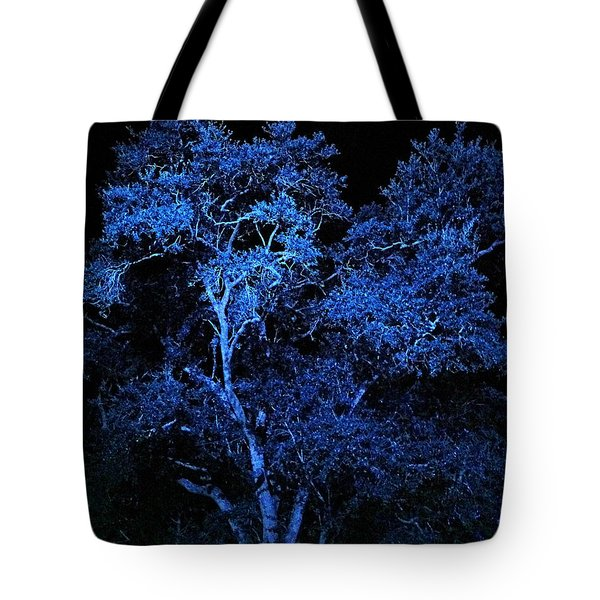 Blue Magic Tote Bag by Doug Kreuger