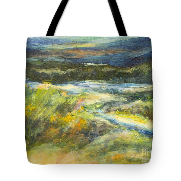 Blue Meadows Tote Bag