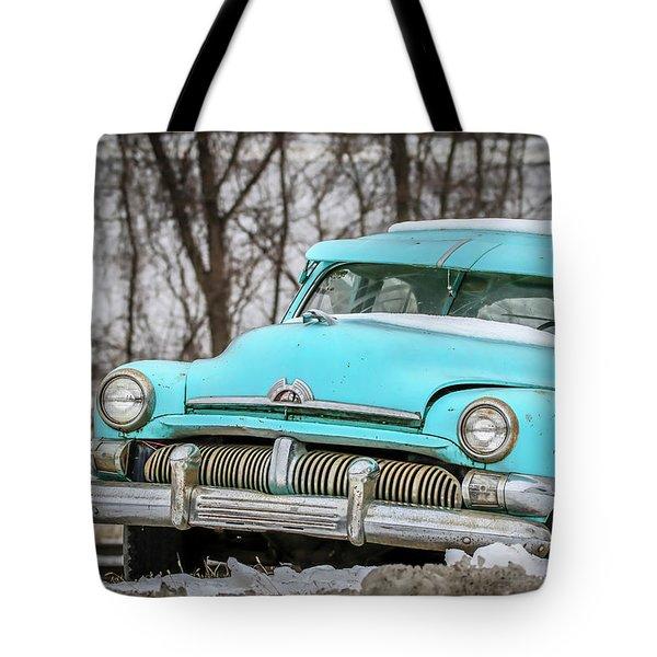 Blue Mercury Tote Bag