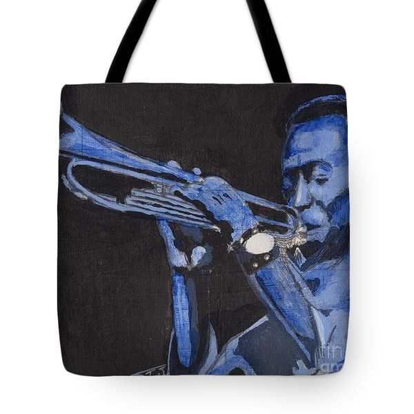 Blue Miles Tote Bag
