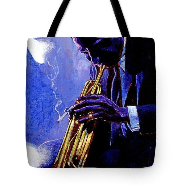 Blue Miles Tote Bag