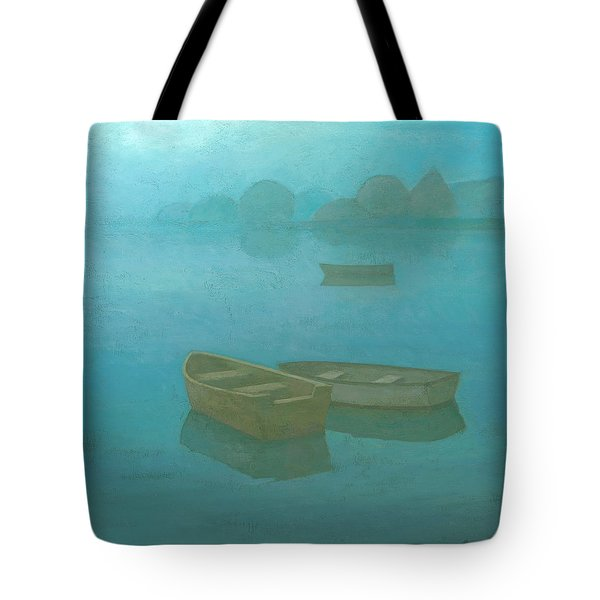 Blue Mist Tote Bag by Steve Mitchell