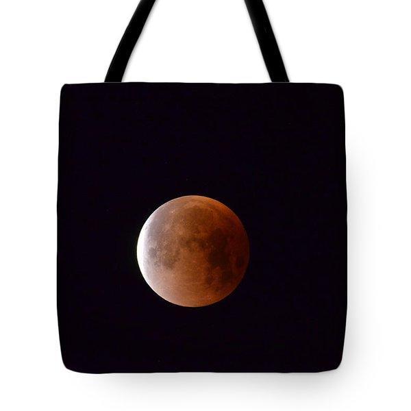 Blue Moon 1-31-18 Tote Bag