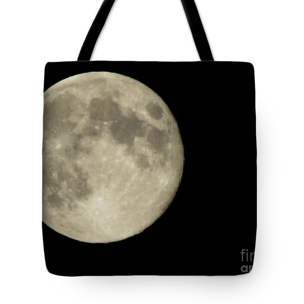 Blue Moon 2012 Tote Bag