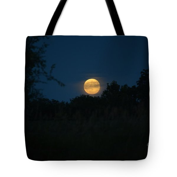 Blue Moon 2015 Tote Bag