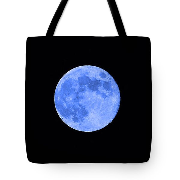 Blue Moon Tote Bag by Al Powell Photography USA