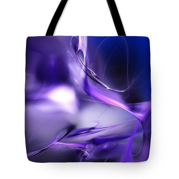 Blue Moon And Wine Spirits Tote Bag by David Lane