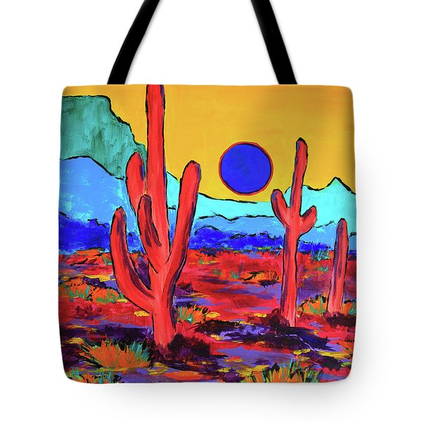 Blue Moon Tote Bag by Jeanette French