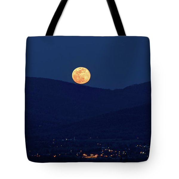 Blue Moon Over Luray 1 Tote Bag