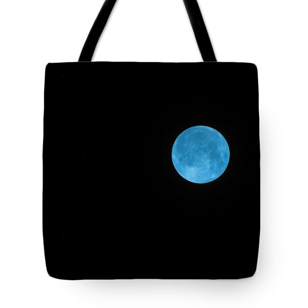 Tote Bag featuring the photograph Blue Moon by Robyn Stacey