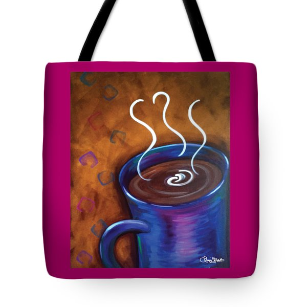 Blue Mug Tote Bag