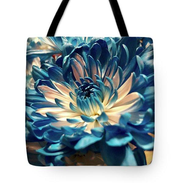 Blue Mum Tote Bag