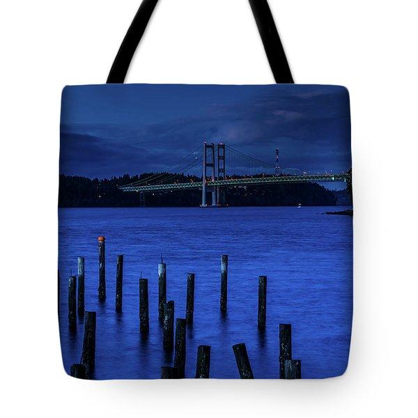 Blue Nights  Tote Bag