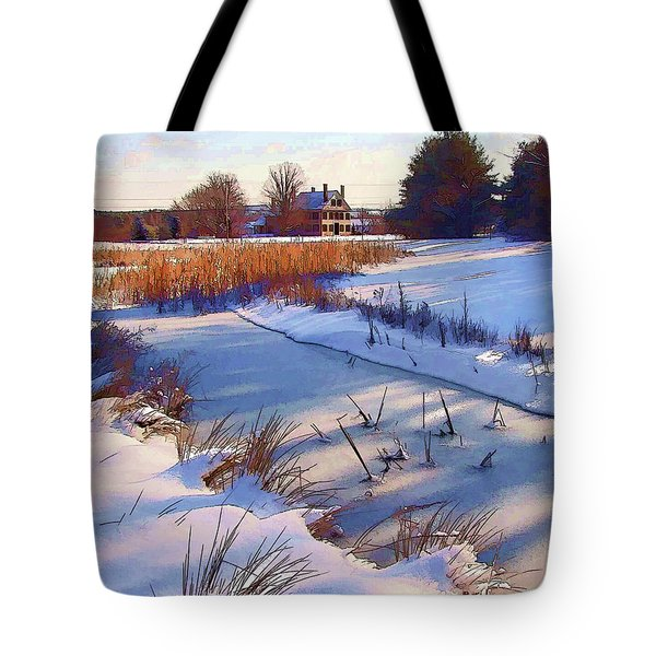 Blue Noon Tote Bag by Betsy Zimmerli
