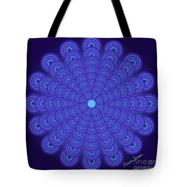 Blue Obsession Tote Bag