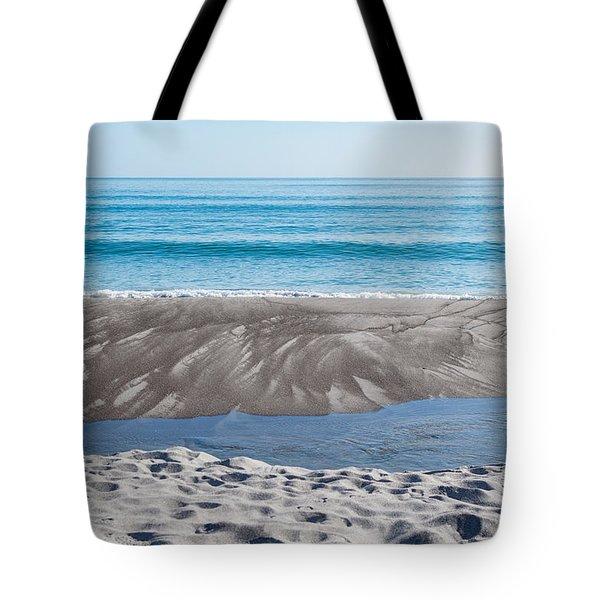 Blue Ocean Tote Bag by Martin Capek