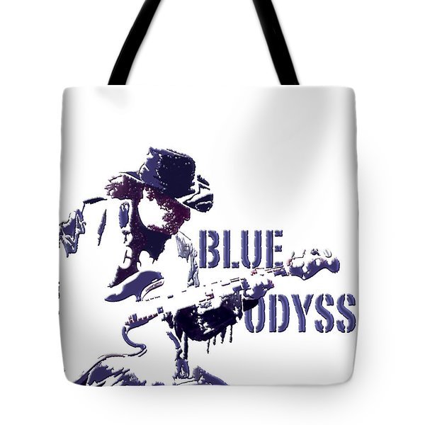 Blue Odyssey Tote Bag