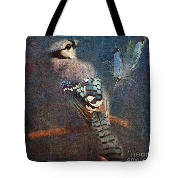 Blue On Blue 2015 Tote Bag