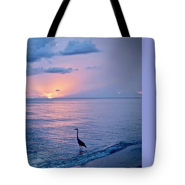 Blue On Blue Tote Bag