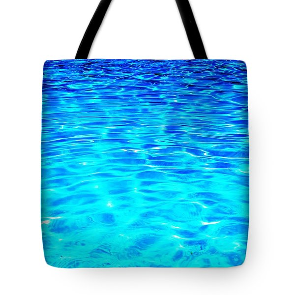 Tote Bag featuring the photograph Blue Or Green by Ramona Matei