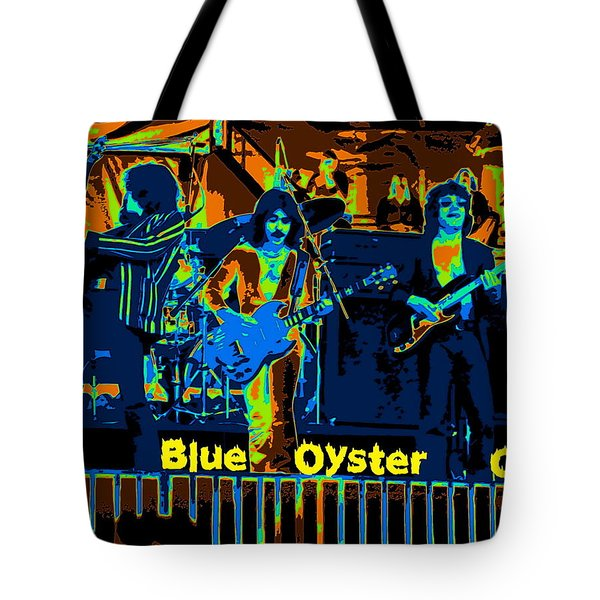 Blue Oyster Cult Jamming In Oakland 1976 Tote Bag