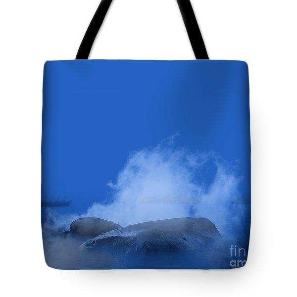 Blue Phi Phi Island Sunrise Tote Bag
