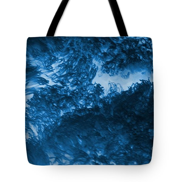 Blue Plants Tote Bag by Kathleen Struckle