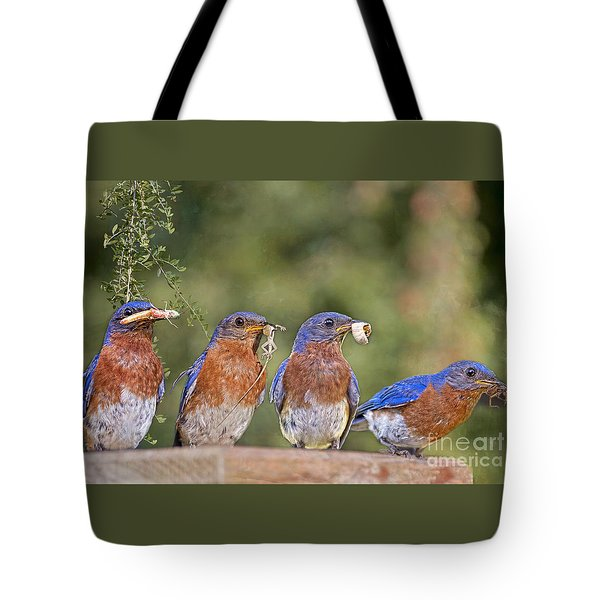 Blue Plate Lunch Special Tote Bag