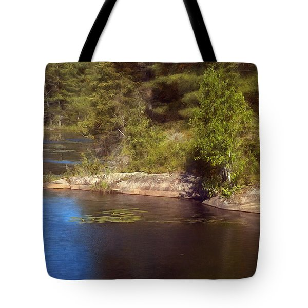 Blue Pond Marsh Tote Bag