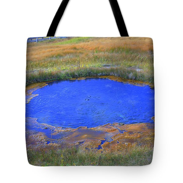 Blue Pool Tote Bag