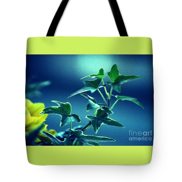 Tote Bag featuring the photograph Blue Power  by Susanne Van Hulst