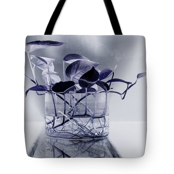 Blue Tote Bag by Rajiv Chopra