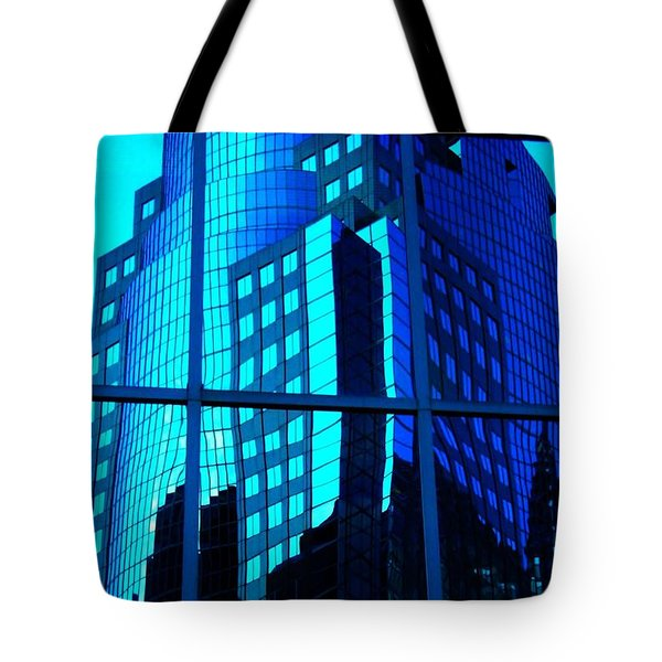 Blue Reflections ... Tote Bag by Juergen Weiss