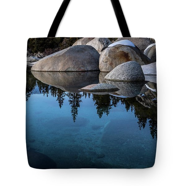 Blue Reflections Tote Bag