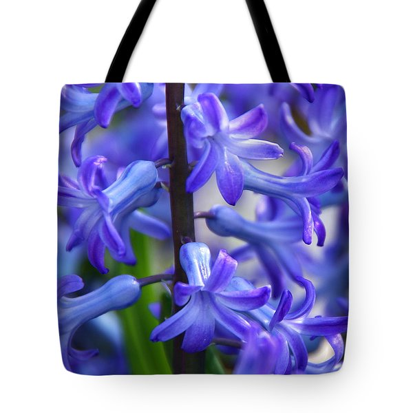 Tote Bag featuring the photograph Blue Rhapsody by Byron Varvarigos