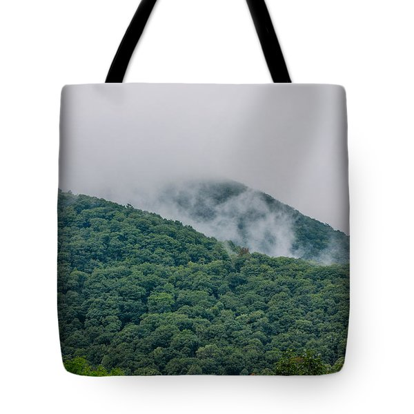 Blue Ridge Clouds Tote Bag