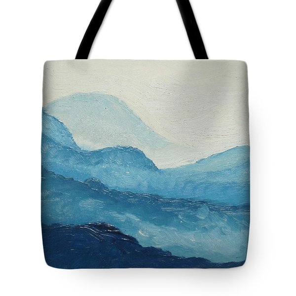 Blue Ridge Tote Bag by D T LaVercombe