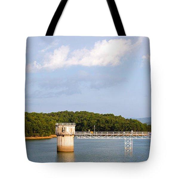 Blue Ridge Dam Tote Bag