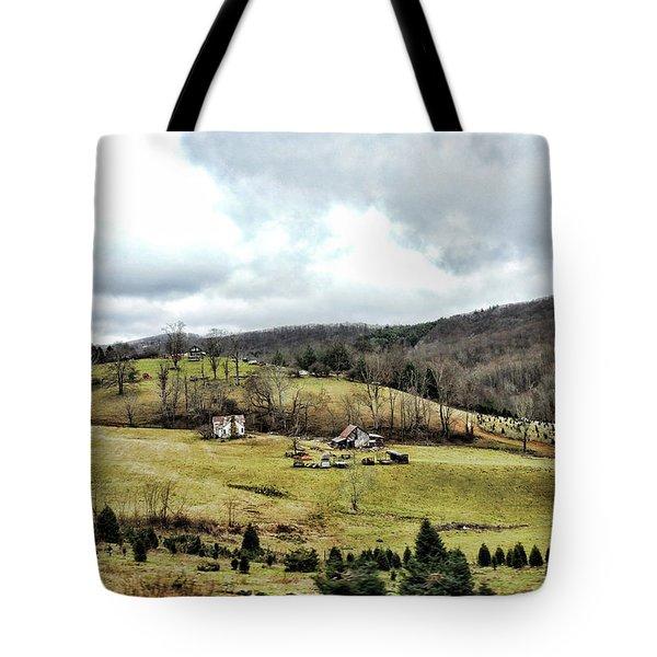 Blue Ridge Homestead Tote Bag
