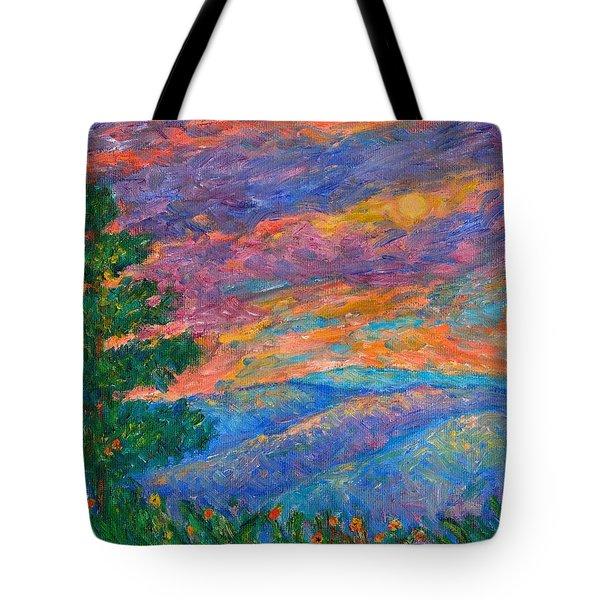 Blue Ridge Jewels Tote Bag