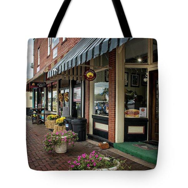 Blue Ridge Love Dogs Tote Bag