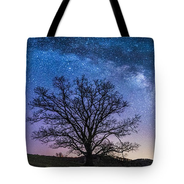 Blue Ridge Milkyway Tote Bag by Robert Loe